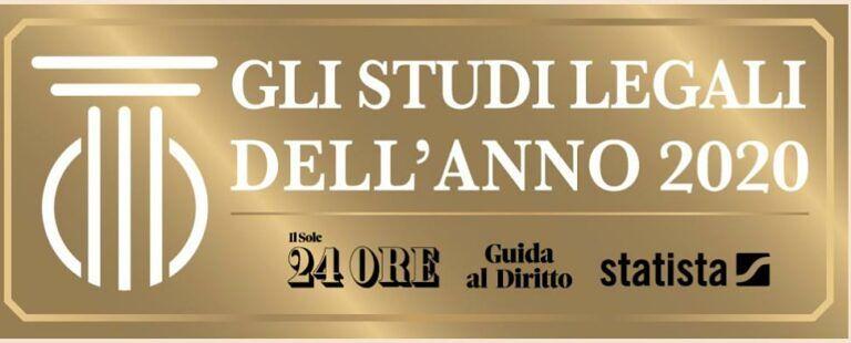 Gli Studi Legali dell'anno 2020, per IlSole24ore tra i migliori uno di Giulianova