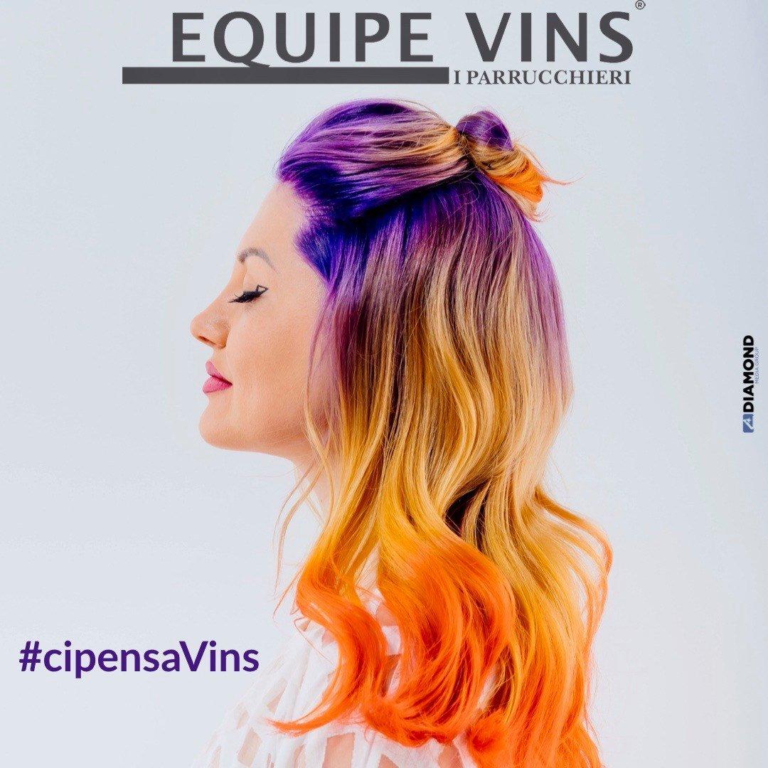 Con Equipe Vins I Parrucchieri, look super glam!
