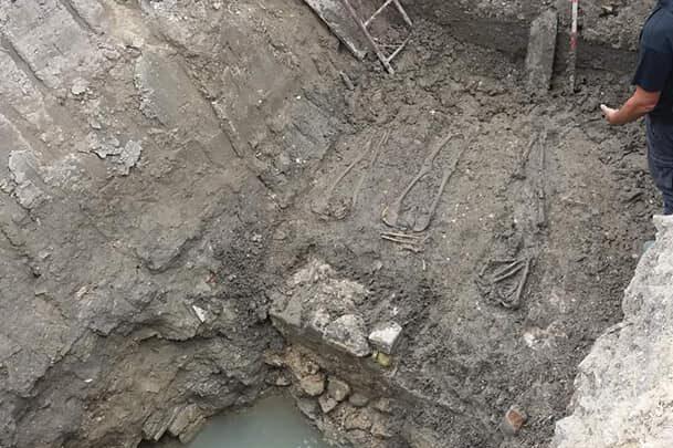 Pescara, almeno 4 tombe e un abitato sotto il Rampigna-FOTO