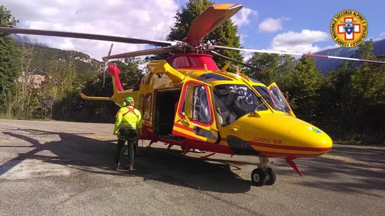 Valle dell'Orfento, infortunio sul sentiero: donna soccorsa in elicottero