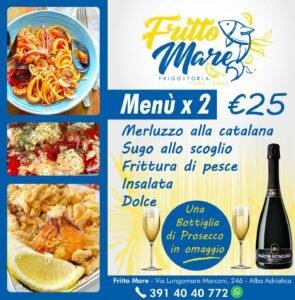 Fritto Mare, la Friggitoria Take Away di Alba Adriatica propone fantastici menù da poter mangiare in loco o direttamente a casa!
