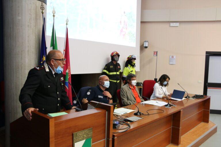 Abruzzo, anti-incendio boschivo: sottoscritta la convenzione