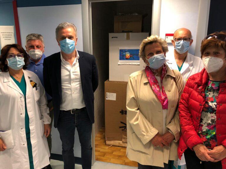 L'Aquila, sterilizzatrice in dono al reparto di malattie infettive