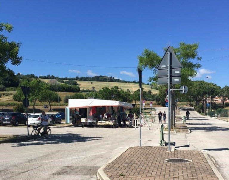 Pineto, il mercato del sabato vicino al ritorno in centro