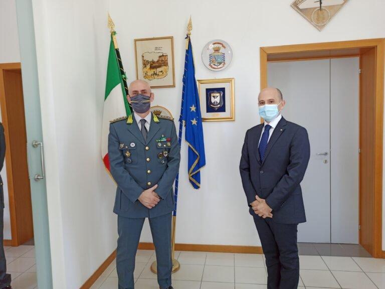 """Teramo, il Prefetto De Prisco alla guardia di finanza: """"Servizi importanti per la collettività"""" FOTO"""