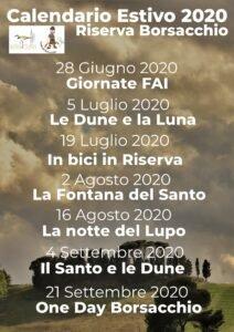 Roseto, al via il calendario estivo 2020 della Riserva del Borsacchio: 'in ritardo per il Comune'