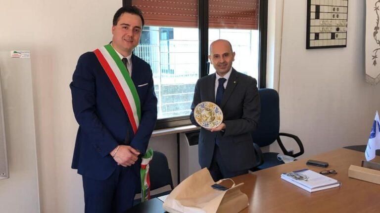 Il Prefetto De Prisco in visita a Castelli FOTO