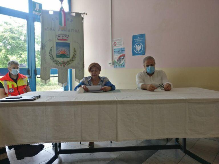 Alba Adriatica, emergenza Covid: il bilancio delle attività del COC. Il sindaco: abbiamo fatto squadra
