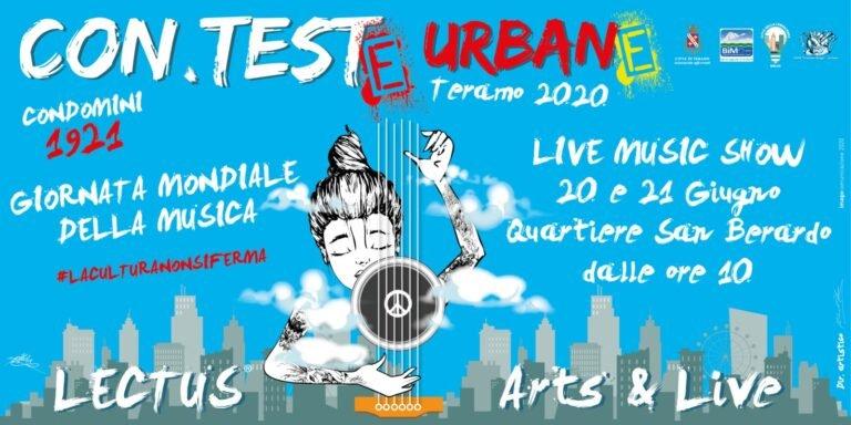 Teramo, il quartiere San Berardo si anima con la live music 'Conteste Urbane'