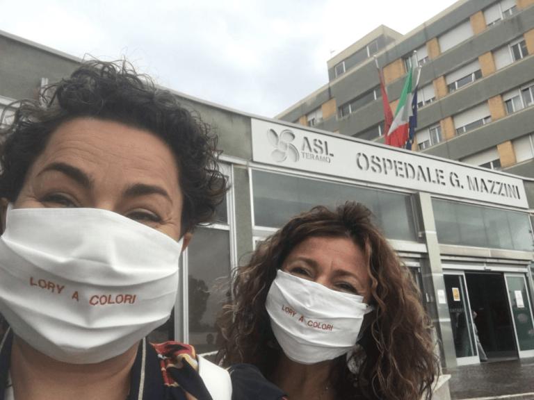 Teramo, donati 30 kit di protezione ai pazienti oncologici del Mazzini