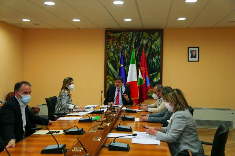 Giunta regionale: i provvedimenti approvati nella seduta odierna