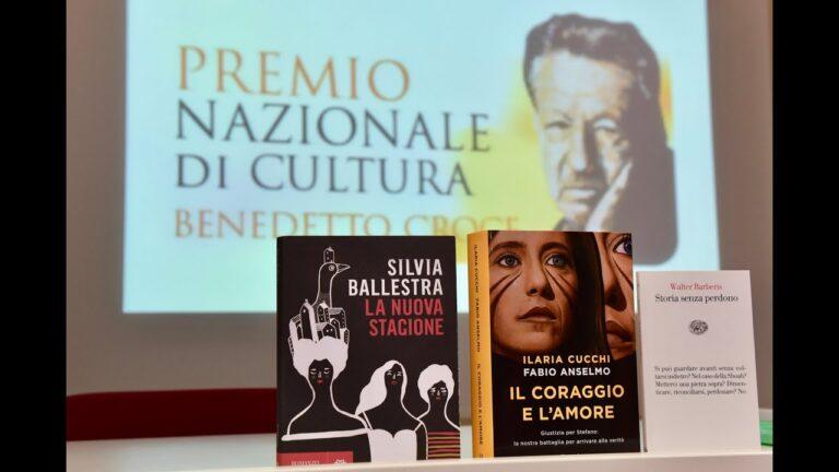 Premio Benedetto Croce: i tre libri vincitori FOTO VIDEO