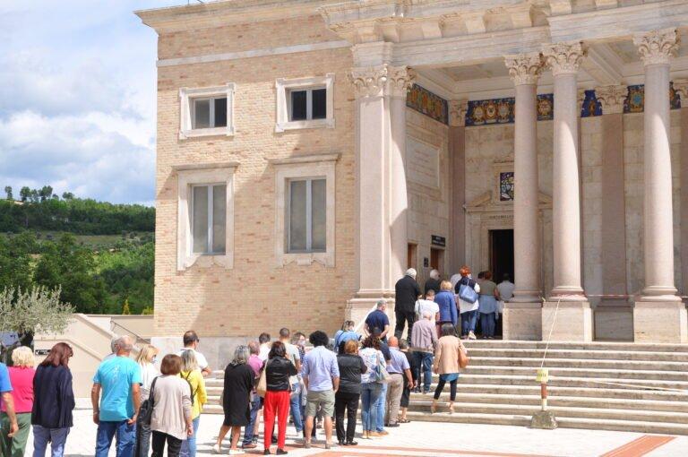 Santuario San Gabriele: riaprono i luoghi del Santo. Ripristinati gli orari delle messe