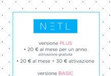 NETL menu digitale