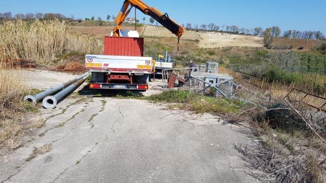 Collaborazione Civeta – Comune di Cupello: riutilizzo materiale di risulta a fini ingegneristici e pulizia aree comunali