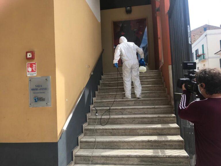 Pescara, sanificati i musei Cascella e Genti d'Abruzzo
