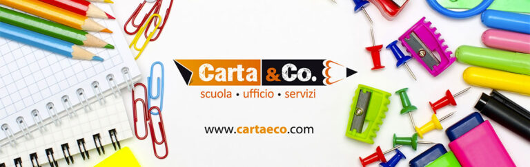 Carta&Co servizio di grafica e stampa per qualunque tipologia di prodotto