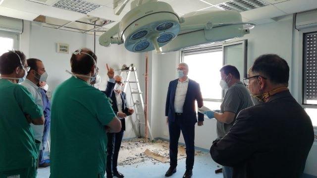 Ospedale di Vasto, sopralluogo di Schael e vertice con i sindaci: 'Niente polemiche, serve collaborazione'