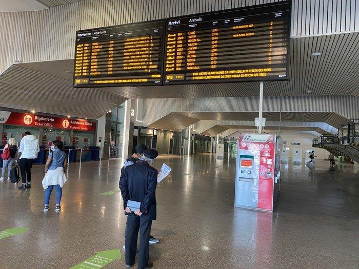 Pescara, ripartono i treni: si rianima la stazione centrale