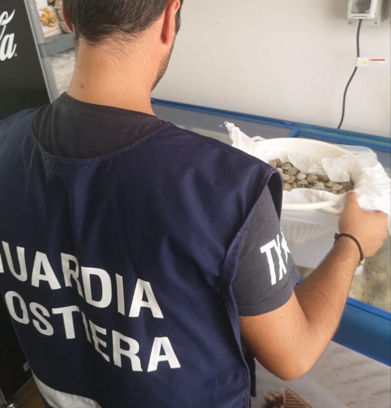 Frontiere tracciabili: la guardia costiera sequestra 1600 kg di pesce in Abruzzo
