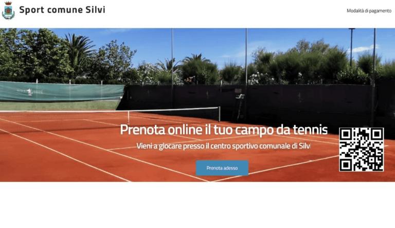 Silvi, riparte il centro sportivo di Piazza Marcone: campi da tennis prenotabili online