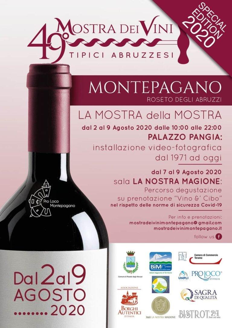 Roseto, torna la Mostra dei Vini di Montepagano: la 49ª edizione