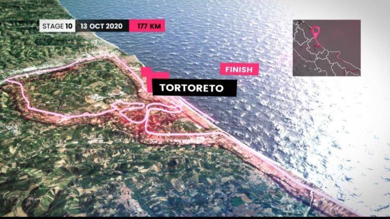 Giro day: ora c'è anche l'ufficialità. Il 13 ottobre il Giro d'Italia arriva a Tortoreto
