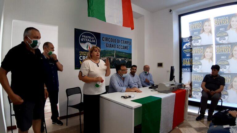 Campli, inaugurata la sede di Fratelli d'Italia