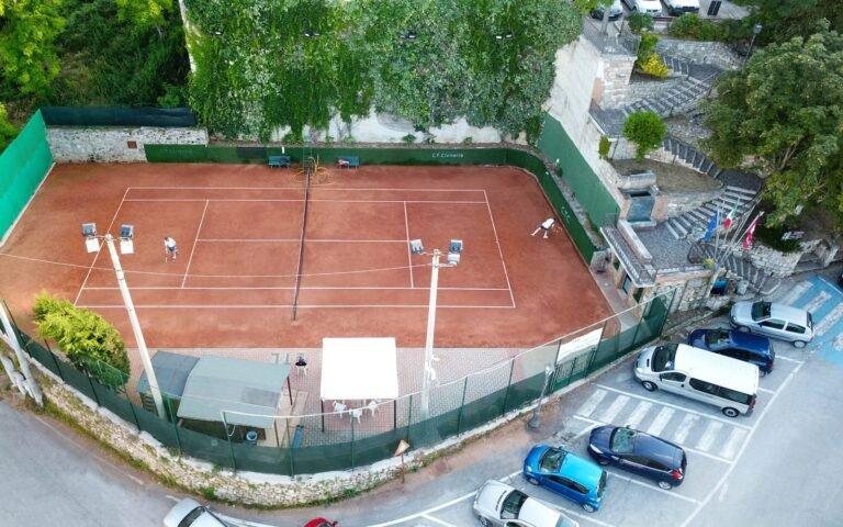 Civitella del Tronto, al via il torneo sociale di tennis con 72 iscritti