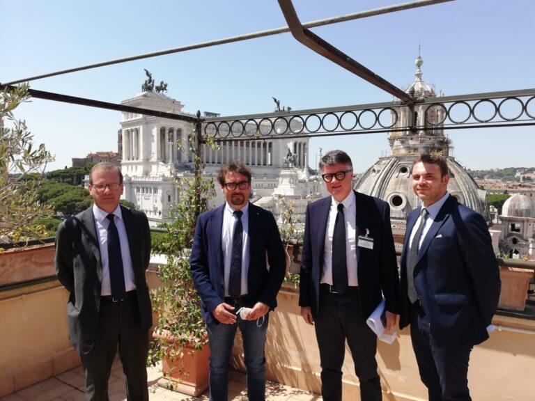 Teramo, assetto infrastrutturale della rete: incontro a Roma con i vertici dell'Anas