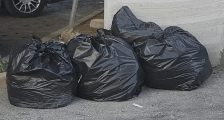 Teramo, sacchi neri abbandonati: identificati i responsabili