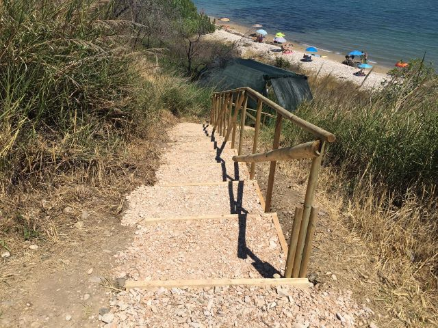 Vasto, sistemazione degli accessi al mare: riqualificati San Nicola e Casarza
