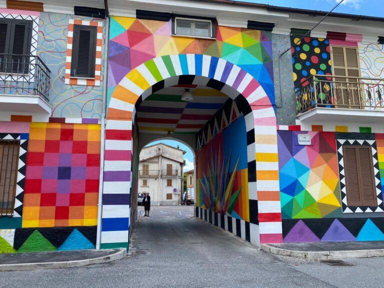 In viaggio con Cityrumors: i luoghi e i racconti. I murales di Aielli FOTO