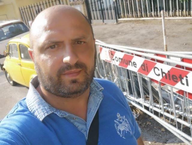 Chieti, lavori in via Santarelli: la soddisfazione di Andrea Di Ciano