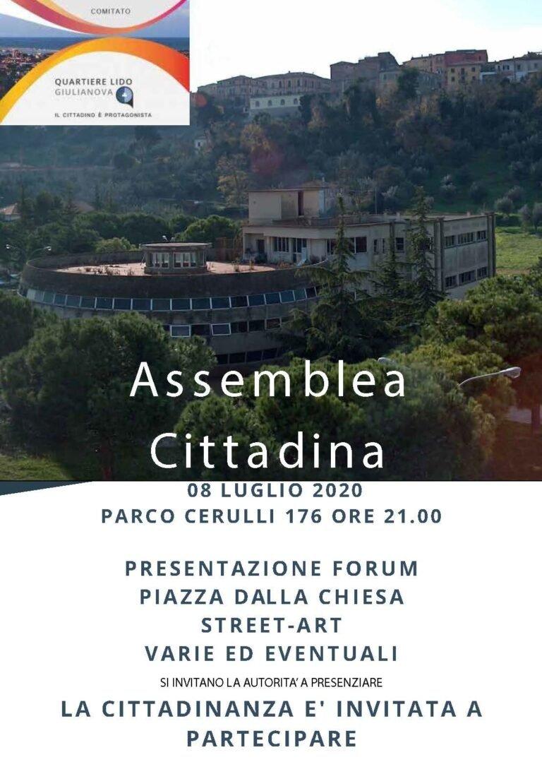 Giulianova, Forum Piazza Dalla Chiesa e progetto Street Art: assemblea del Quartiere Lido