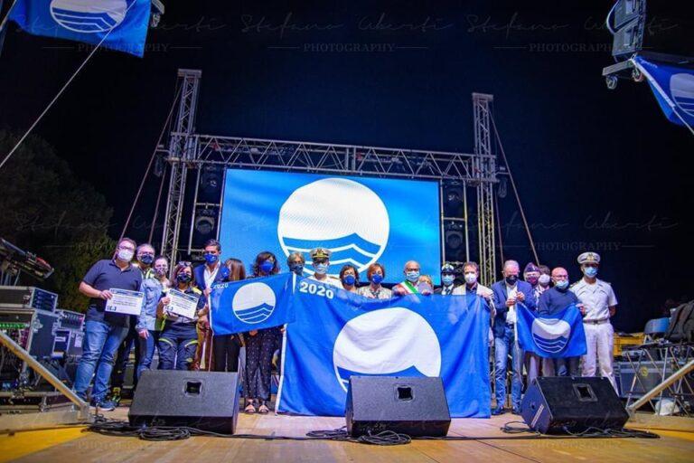 Tortoreto ha celebrato la Bandiera Blu numero 24