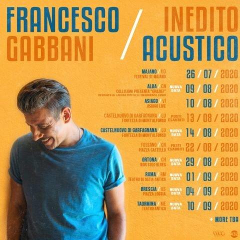 Il concerto di Francesco Gabbani per la chiusura dell'estate ortonese