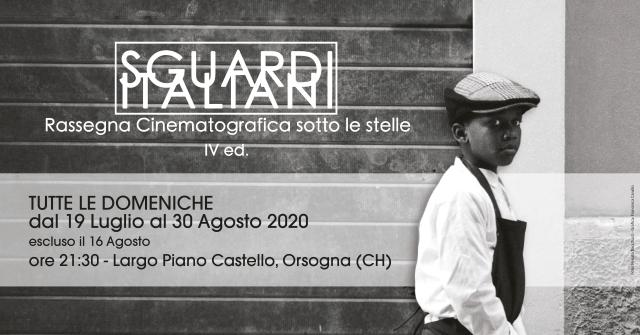 Cinema sotto le stelle ad Orsogna: torna Sguardi Italiani