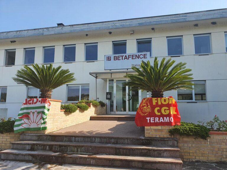 Giulianova, Il Cittadino Governante lancia l'allarme per la chiusura di Betafence di Tortoreto