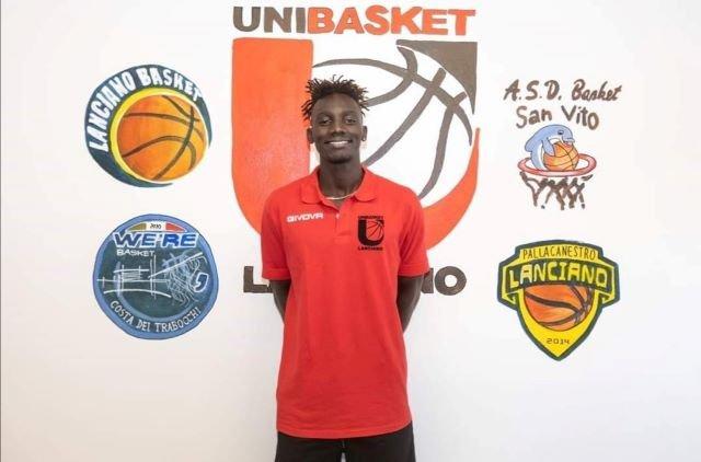 Constantin Maralossou Dabangdata confermato per il secondo anno con l'Unibasket Lanciano