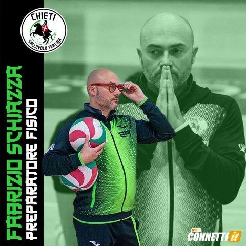 Una conferma importante per la Pallavolo Teatina: Fabrizio Schiazza