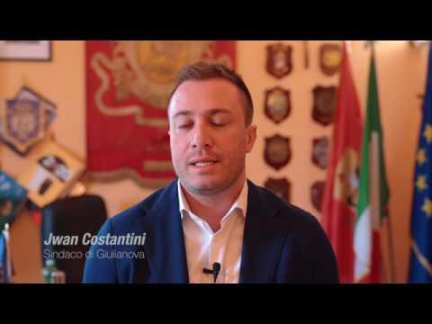 Giulianova, il video sulle nuove luci del Lungomare Monumentale