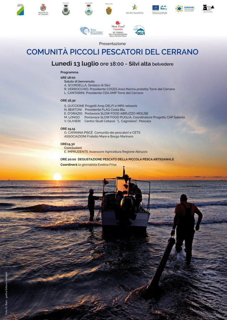 Silvi, convegno sull'importanza dei piccoli pescatori del Cerrano