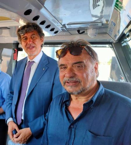 Paglieta, due nuovi locomotori diesel al parco rotabile della Sangritana VIDEO
