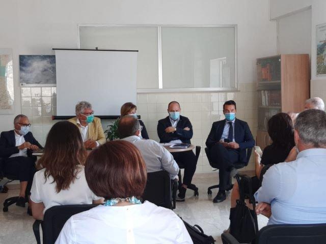 Vertice a Casoli con i sindaci, impegno dell'assessore Verì per la salute nelle aree interne