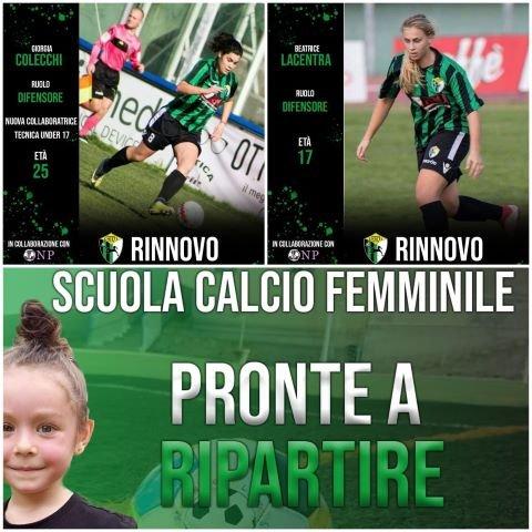 Continuano le manovre in casa Chieti Calcio Femminile in vista della nuova stagione