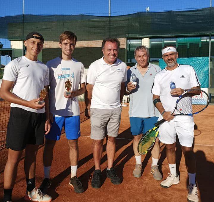 Tennis, concluso il torneo maschile al Centro di Marina di Città Sant'Angelo