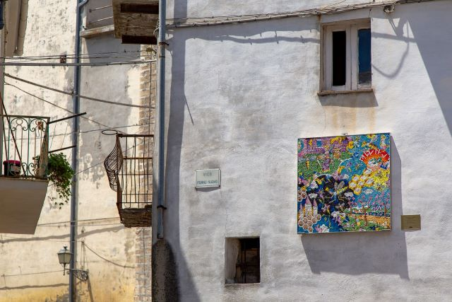 Tutto pronto per l'inaugurazione della XII edizione di 'Un Mosaico per Tornareccio'