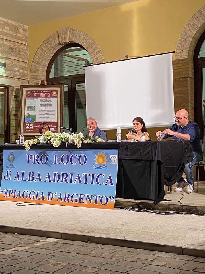 Alba Adriatica, a Villa Flaiani il ricordo commosso di Domenico Pantone FOTO
