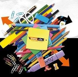 Carta & Co, tutto per la scuola e per l'ufficio!